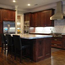 Contemporary Kitchen by Lilli Design