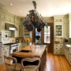 Traditional Kitchen by DLB Custom Home Design