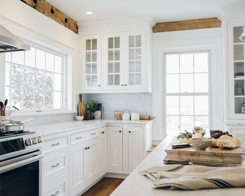 large farmhouse kitchen photos inspiration for a large farmhouse l shaped medium tone wood