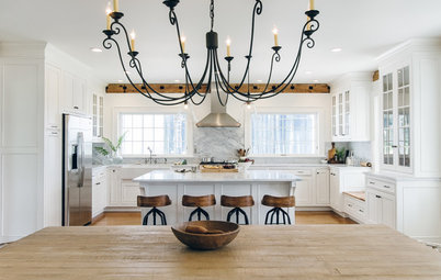 4 Dreamy White-and-Wood Kitchens to Learn From