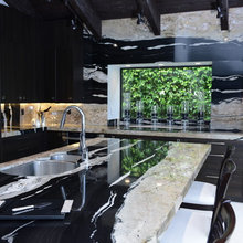 kitchen waterfall