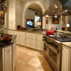 Traditional Kitchen by Sharon Flatley Design