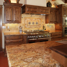 Traditional Kitchen by Rocky Mountain Stone Co., Inc.