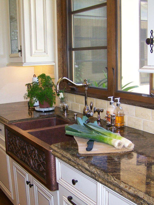 Copper Farmhouse Sink Home Design Ideas Pictures Remodel