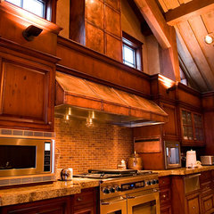 traditional kitchen by Milo's Art Metal, LLC