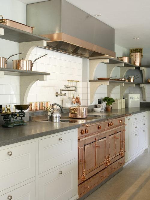 Copper appliances kitchen design ideas remodel pictures for Kitchen ideas rose gold