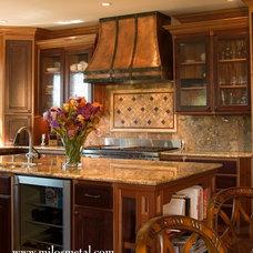 Traditional Kitchen by Milo's Art Metal, LLC