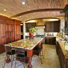 Mediterranean Kitchen Copper River Model