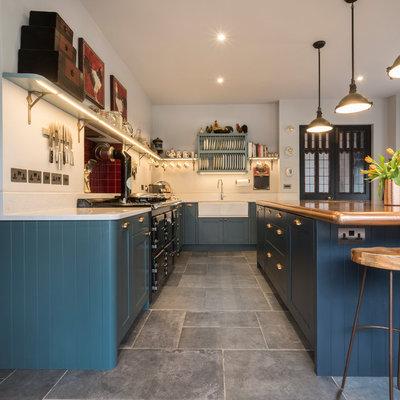 Victorian Kitchen by Treyone