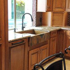 Traditional Kitchen by Rachiele, LLC