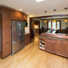 Transitional Kitchen by Modern  Yankee Builders