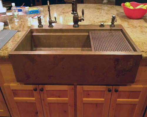 top mount farm sink home design ideas pictures remodel