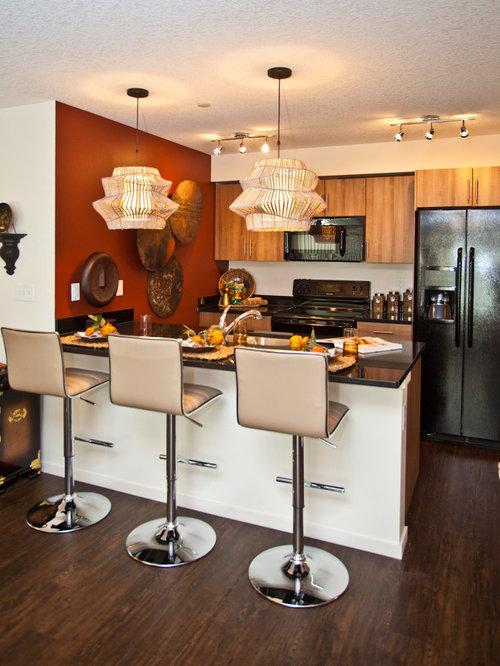 Calgary zen kitchen design ideas remodels photos for Zen kitchen ideas