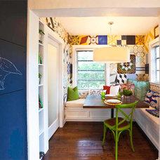 Eclectic Kitchen by Errez Design Inc.