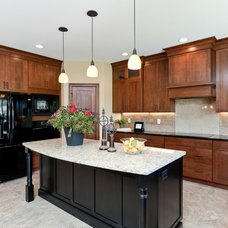 Traditional Kitchen by Skogman Homes