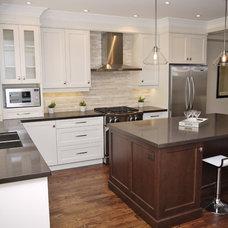 Transitional Kitchen by Marcon Kitchens & Bath Studio