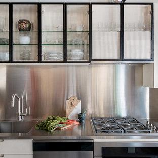 Cordova Street Residence - Industrial Kitchen