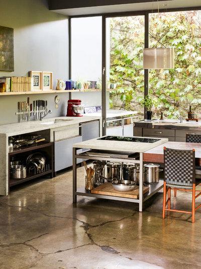 Contemporary Kitchen by Corian® Design