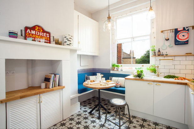 Eclectic Kitchen by Studio ATARA