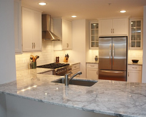 White Fantasy Granite Houzz