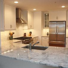 Contemporary Kitchen by Cornerstone Kitchen & Bath