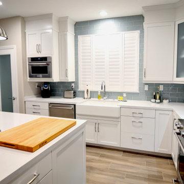 Corona, CA Modern and Bright Kitchen Remodel