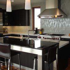Contemporary Kitchen by KE Design Studio