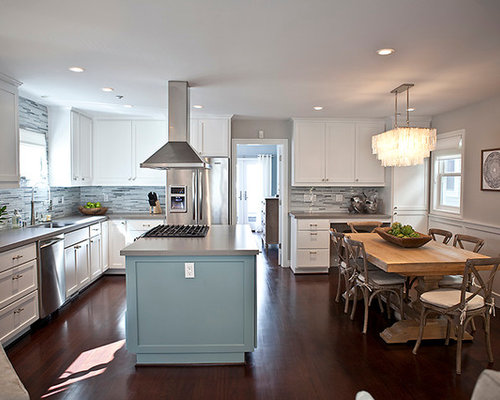 Beach Style Galley Kitchen Design Ideas Renovations Photos