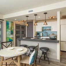 Beach Style Kitchen by L'Attitude Design-Build