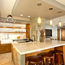 Contemporary Kitchen by Bungalow 56 Interiors