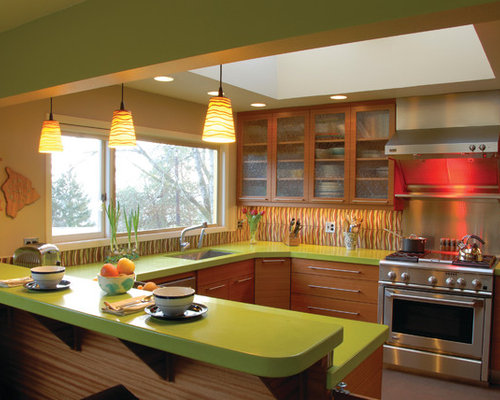 Lime Green Countertop Ideas Pictures Remodel And Decor