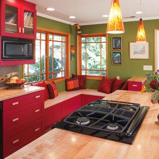 Transitional kitchen ideas - Kitchen - transitional kitchen idea in Portland