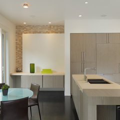modern kitchen by EAG Studio