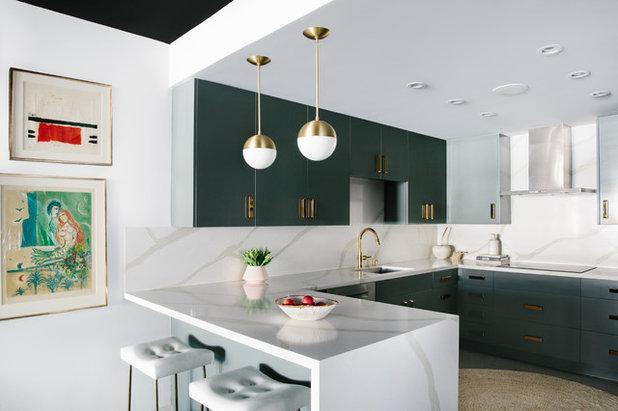Contemporary Kitchen by Black Lacquer Design