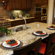 Contemporary Kitchen by Cosmos Granite & Marble