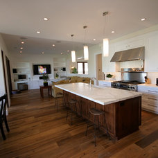 Contemporary Kitchen by Christiano Homes, Inc.