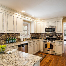 Transitional Kitchen by Decorative Designs