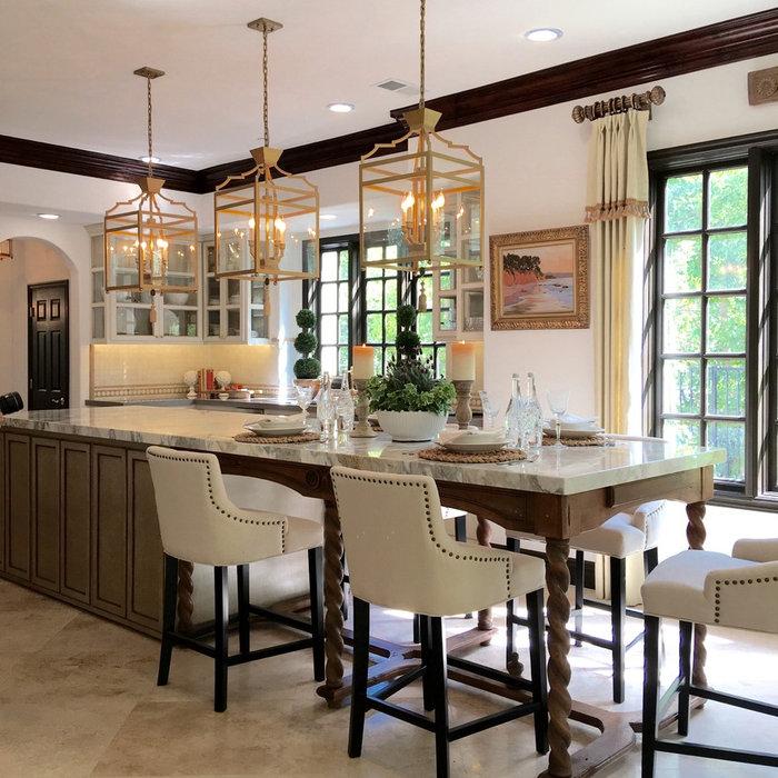 Mediterranean Kitchen, Interior & Garden Design | Coto de Caza, CA