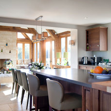 Traditional Kitchen by Charles Bateson Interior Design
