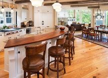 what kind of wood and finish is the floor---looks great