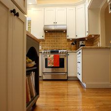 Eclectic Kitchen by Cabochon Surfaces & Fixtures
