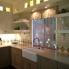 Traditional Kitchen by Lisa Esposito Design