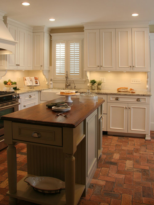 Brick paver floors ideas pictures remodel and decor for Brick kitchen floor ideas
