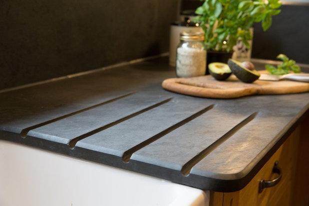 Schieferplatten für die Küche - natürlich schön! | {Schiefer arbeitsplatte 10}