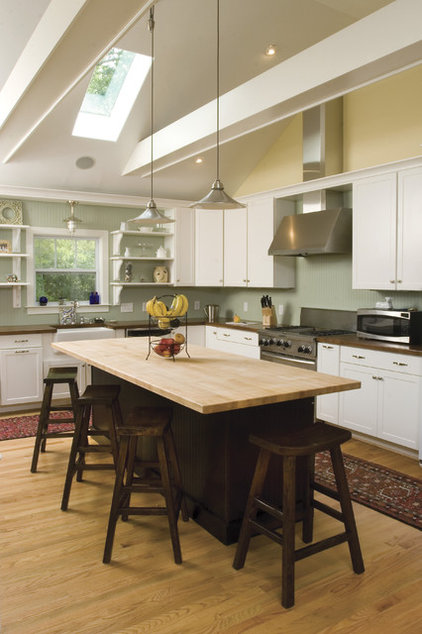 Transitional Kitchen by Tongue & Groove