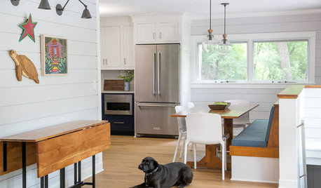 Cottage Kitchen Goes From Dark and Gloomy to Light and Bright