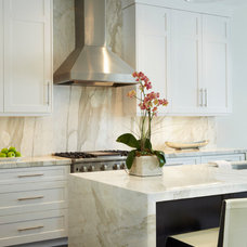 Transitional Kitchen by Turtle Beach Construction & Remodeling