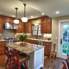 Traditional Kitchen by Spaces Into Places Inc.