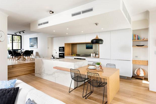 Scandinavian Kitchen by Western Cabinets