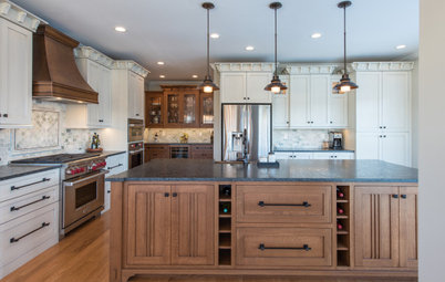 Kitchen of the Week: White, Wood and Craftsman Style in Tennessee